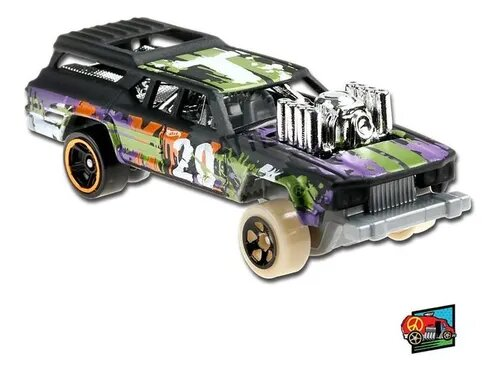 Carrinho Hot Wheels Cruise Bruiser (UDRTS) HW Art Cars - Mattel