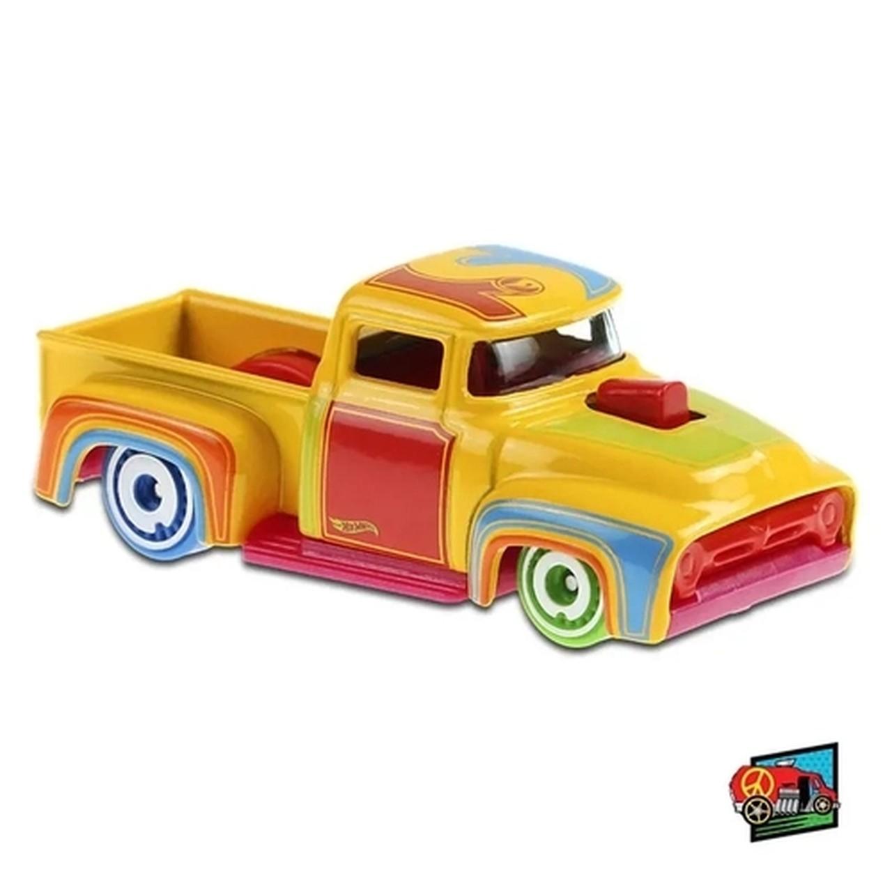 Carrinho Hot Wheels Custom '56 Ford Truck (RRXUY) Hw Art Cars  - Mattel