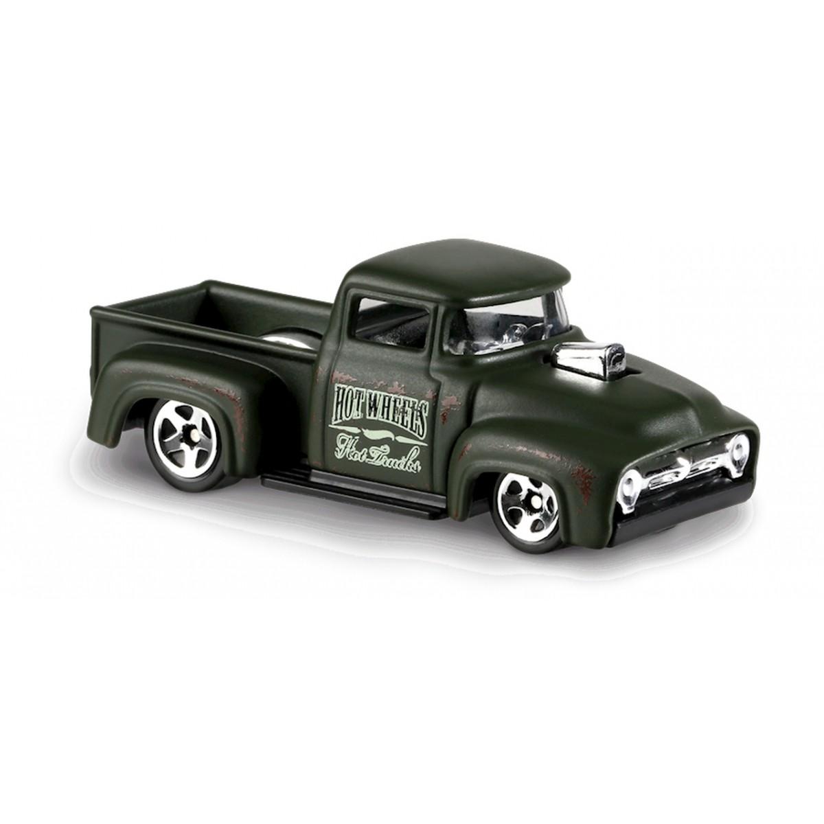 Carrinho Hot Wheels: Custom '56 Ford Truck Verde