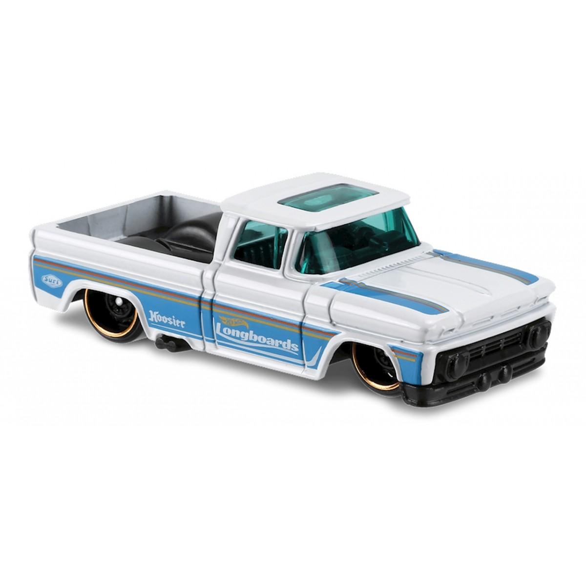 Carrinho Hot Wheels: Custom '62 Chevy Pickup Branco