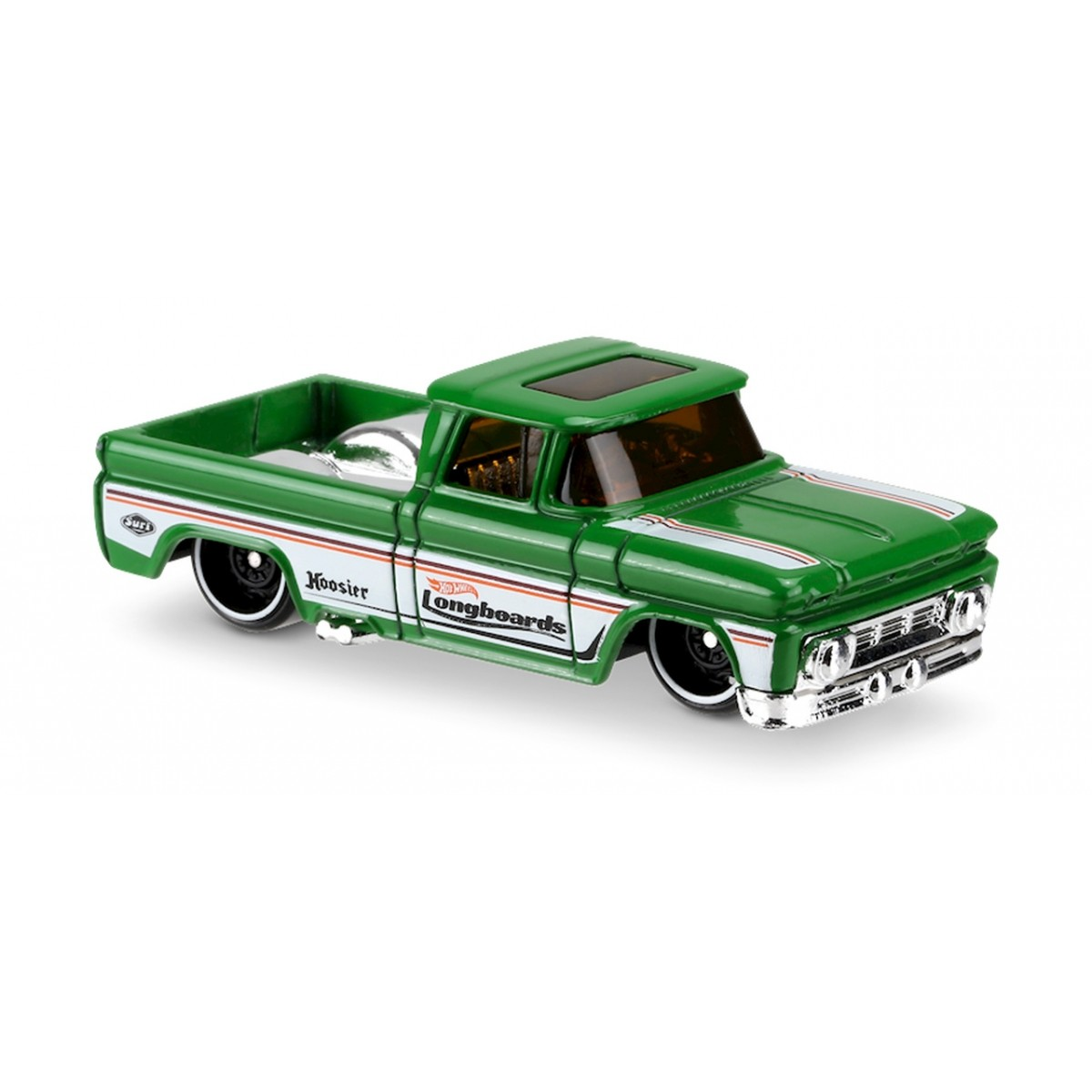 Carrinho Hot Wheels: Custom '62 Chevy Pickup Verde