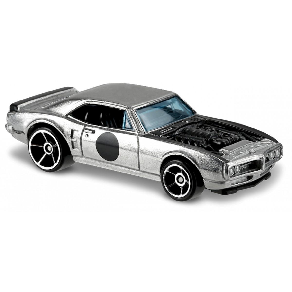 Carrinho Hot Wheels: Custom '67 Pontiac Firebird Prateado
