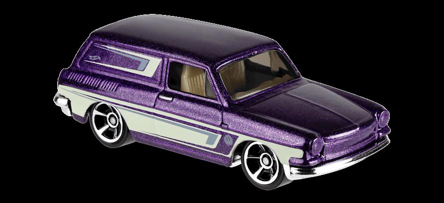 Carrinho Hot Wheels Custom '69 Volkswagen Squareback (7LUZI) - Mattel