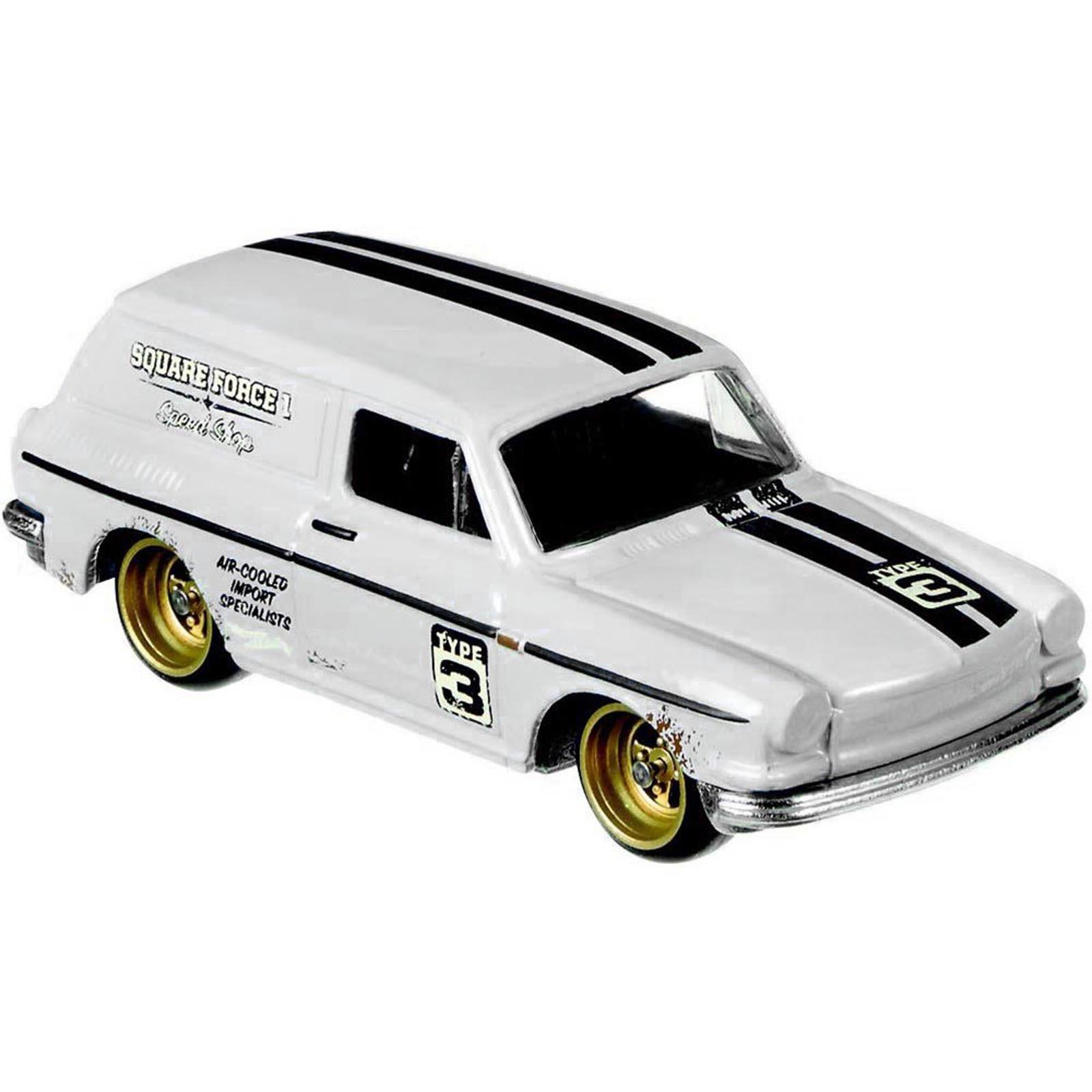 Carrinho Hot Wheels: Custom `69 Volkswagen Squareback - Mattel