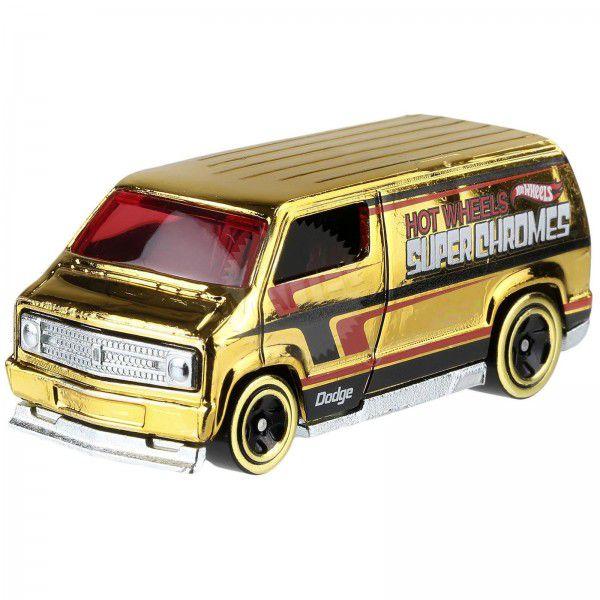 Carrinho Hot Wheels: Custom '77 Dodge Van (R9MWF) - Mattel