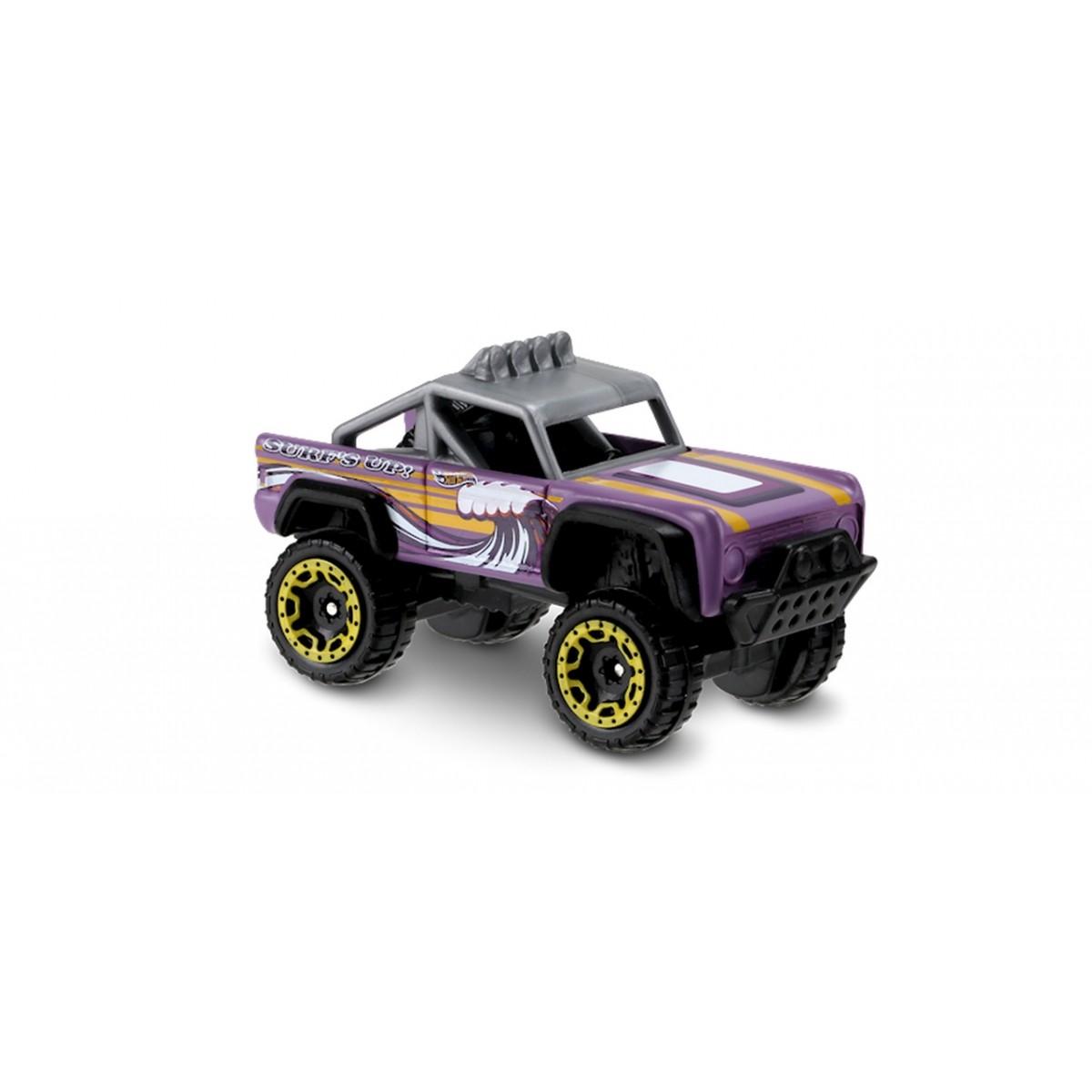 Carrinho Hot Wheels: Custom Ford Bronco Lilás
