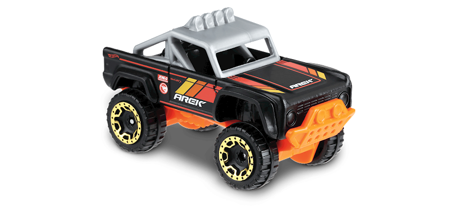 Carrinho Hot Wheels Custom Ford Bronco (XTHJG) - Mattel