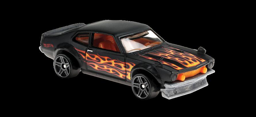 Carrinho Hot Wheels Custom Ford Maverick (ZEOMW) HW Flames