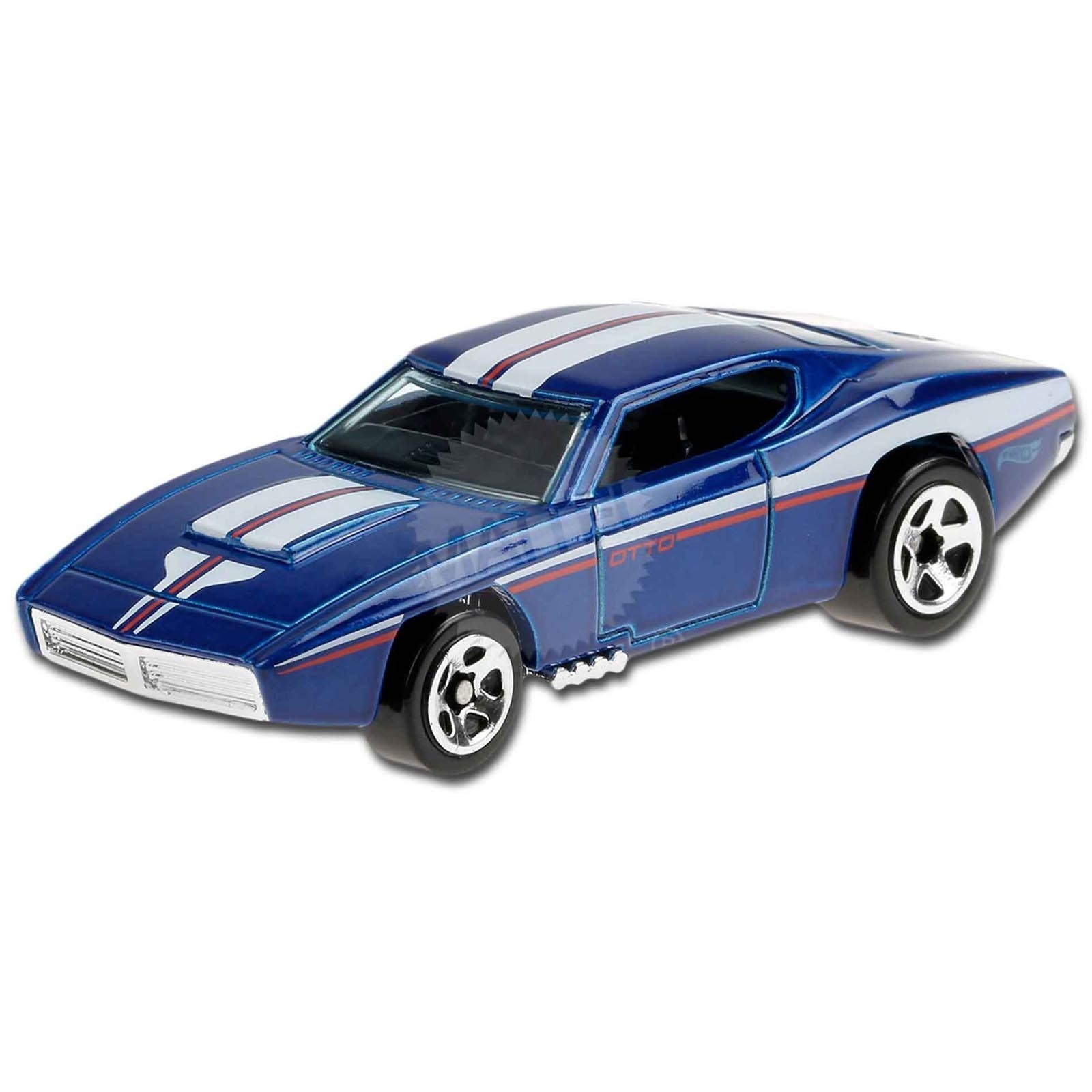 Carrinho Hot Wheels Custom Otto (BMISA) Muscle Mania - Mattel