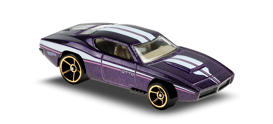 Carrinho Hot Wheels Custom Otto™ (KLTMB) Muscle Mania - Mattel