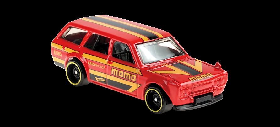 Carrinho Hot Wheels: Datsun Bluebird Wagon (510) - ( Hw Speed Graphics ) - XGY9T