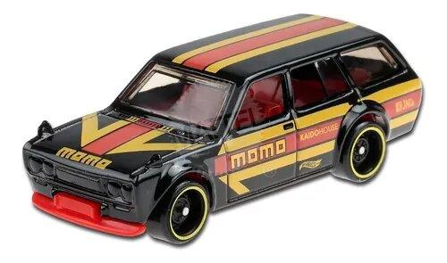 Carrinho Hot Wheels Datsun Bluebird Wagon (510) (ZHQFT) HW Speed Graphics - Mattel