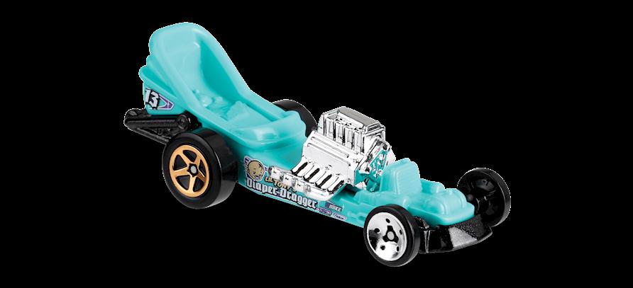 Carrinho Hot Wheels Diaper Dragger (4LTVX) - Mattel