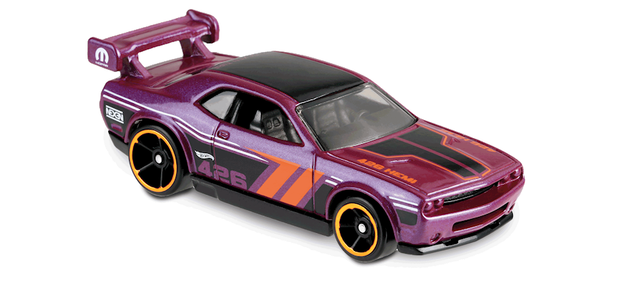Carrinho Hot Wheels Dodge Challenger Drift Car (JV0UZ) - Mattel