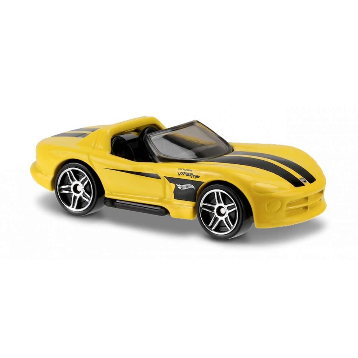 Carrinho Hot Wheels: Dodge Viper RT/10 Amarelo