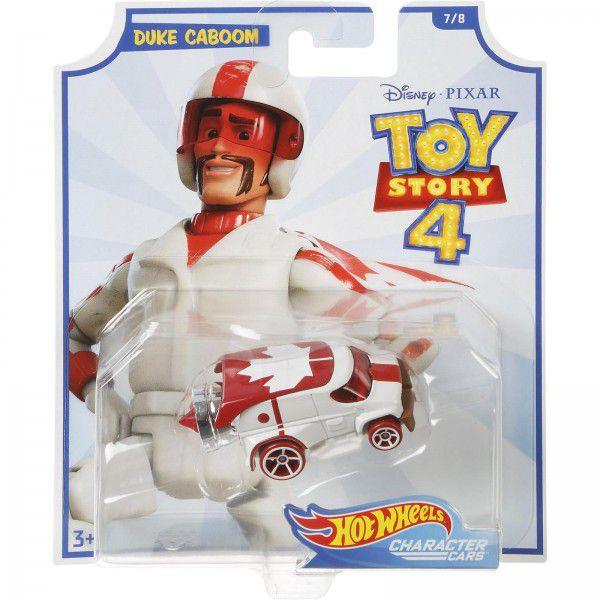 Carrinho Hot Wheels Duke Caboom: Toy Story 4 - Mattel  - Toyshow Geek e Colecionáveis Tudo em Marvel DC Netflix Vídeo Games