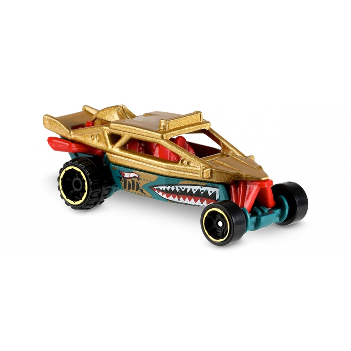 Carrinho Hot Wheels: Dune It Up Dourado e Verde