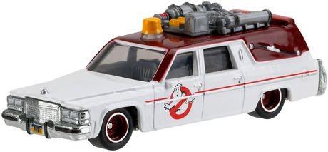 Carrinho Hot Wheels: Ecto-1 Caça-Fantasmas (Ghostbusters) Branco