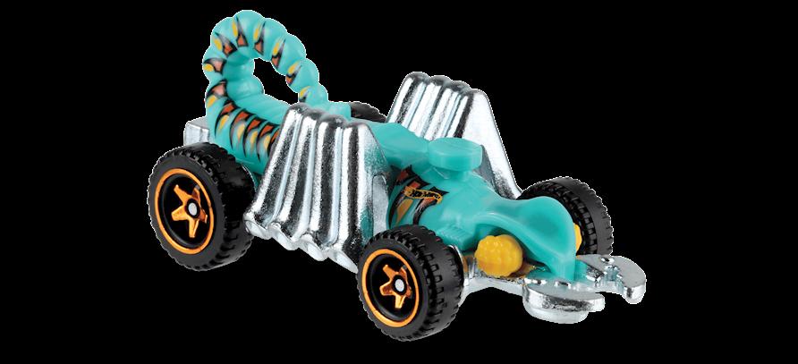 Carrinho Hot Wheels Eevil Weevil (FI1U1) - Mattel