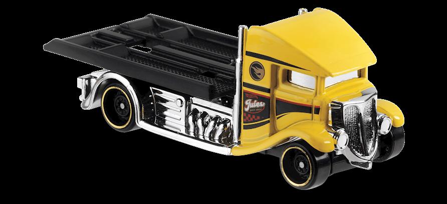 Carrinho Hot Wheels Fast-Bed Hauler (RI87D) - Mattel