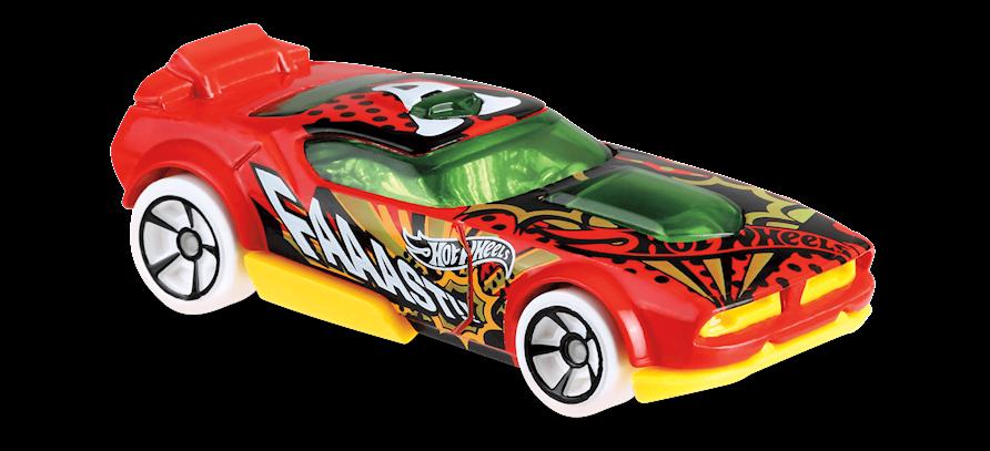 Carrinho Hot Wheels Fast Fish (MPZU4) - Mattel