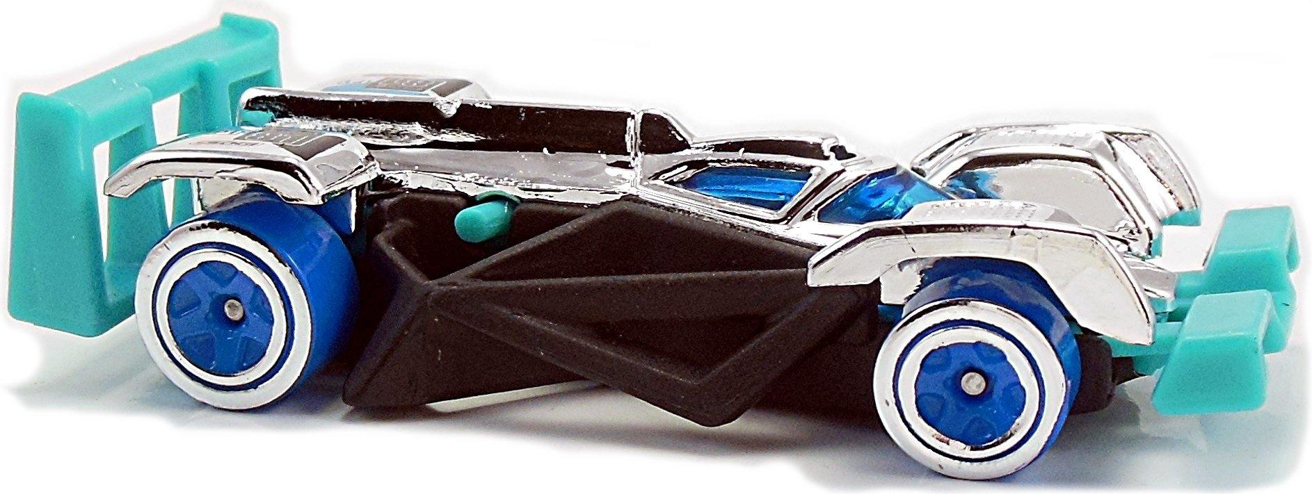 Carrinho Hot Wheels: Flash Drive Preto e Azul - Mattel