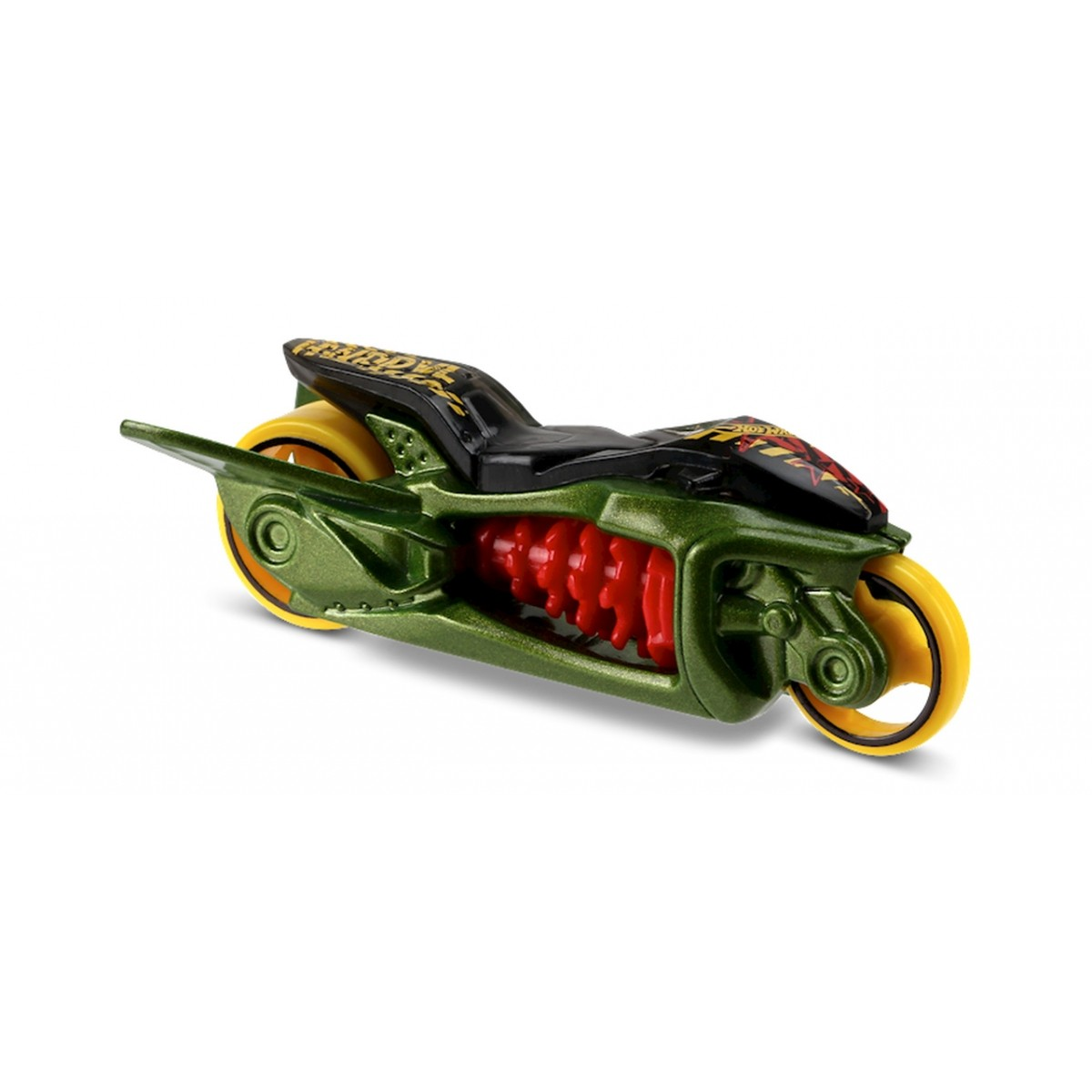 Carrinho Hot Wheels: Fly-By (Moto) Verde