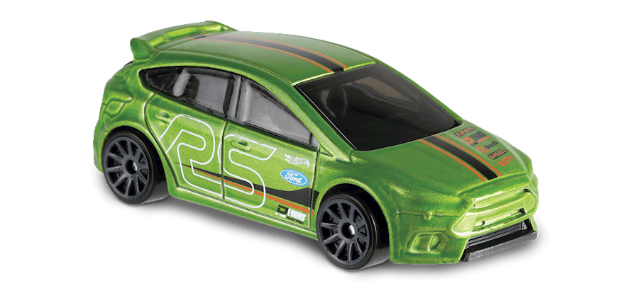 Carrinho Hot Wheels Ford Focus RS (VEPTO) - Mattel
