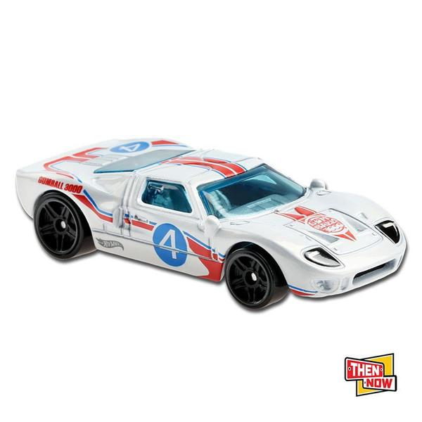 Carrinho Hot Wheels: Ford GT-40 Then And Now - Mattel