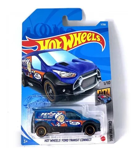 Carrinho Hot Wheels Ford Transit Connect HW Metro - Mattel