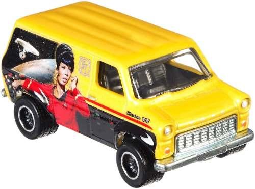 Carrinho Hot Wheels: Ford Transit Supervan: Star Trek