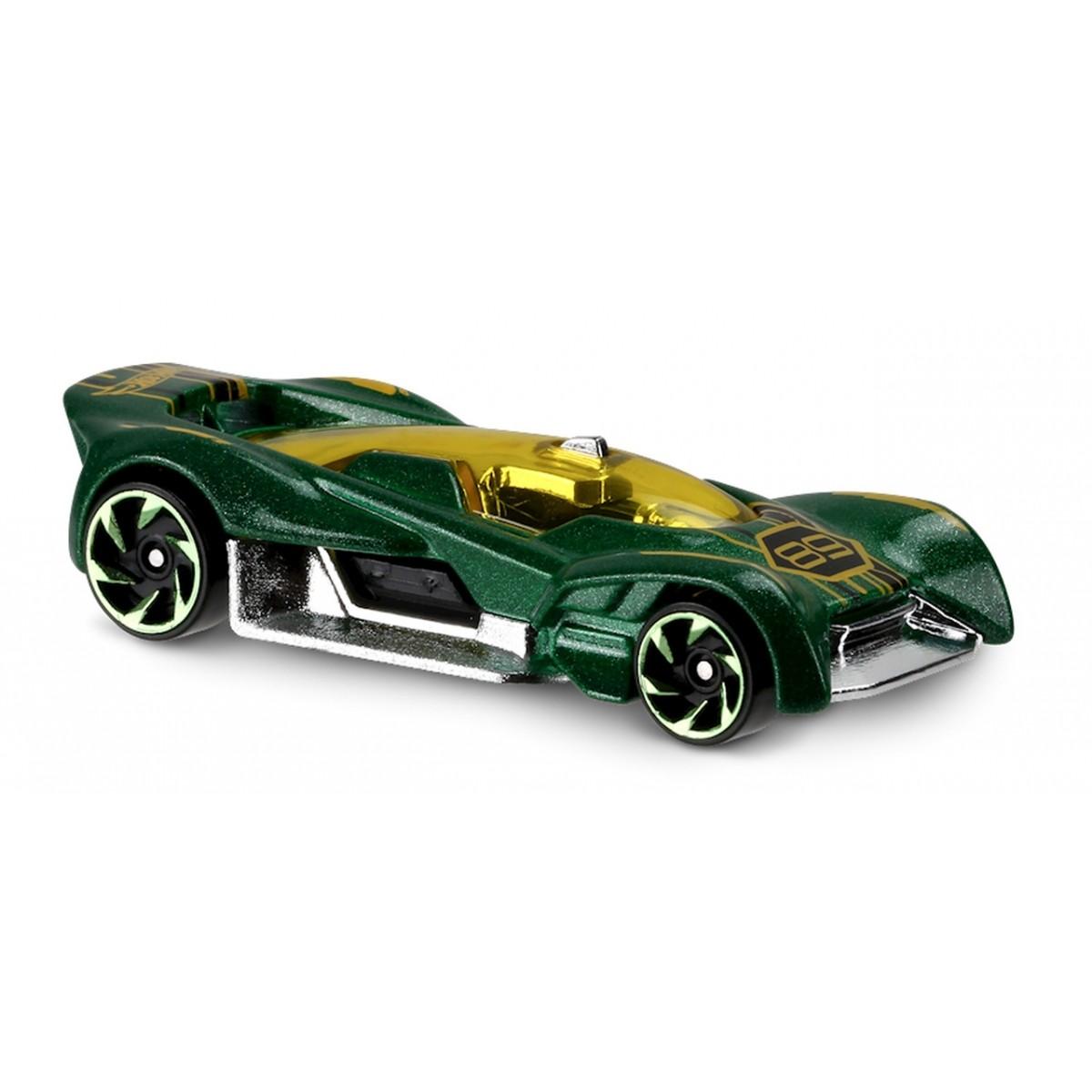 Carrinho Hot Wheels: Futurismo Verde