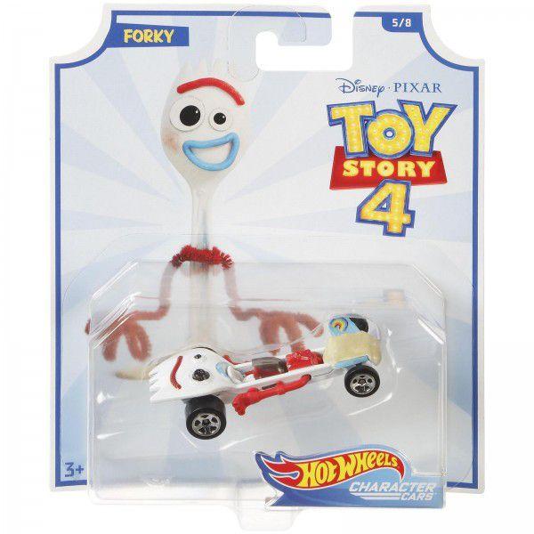 Carrinho Hot Wheels Garfinho (Forky): Toy Story 4 - Mattel