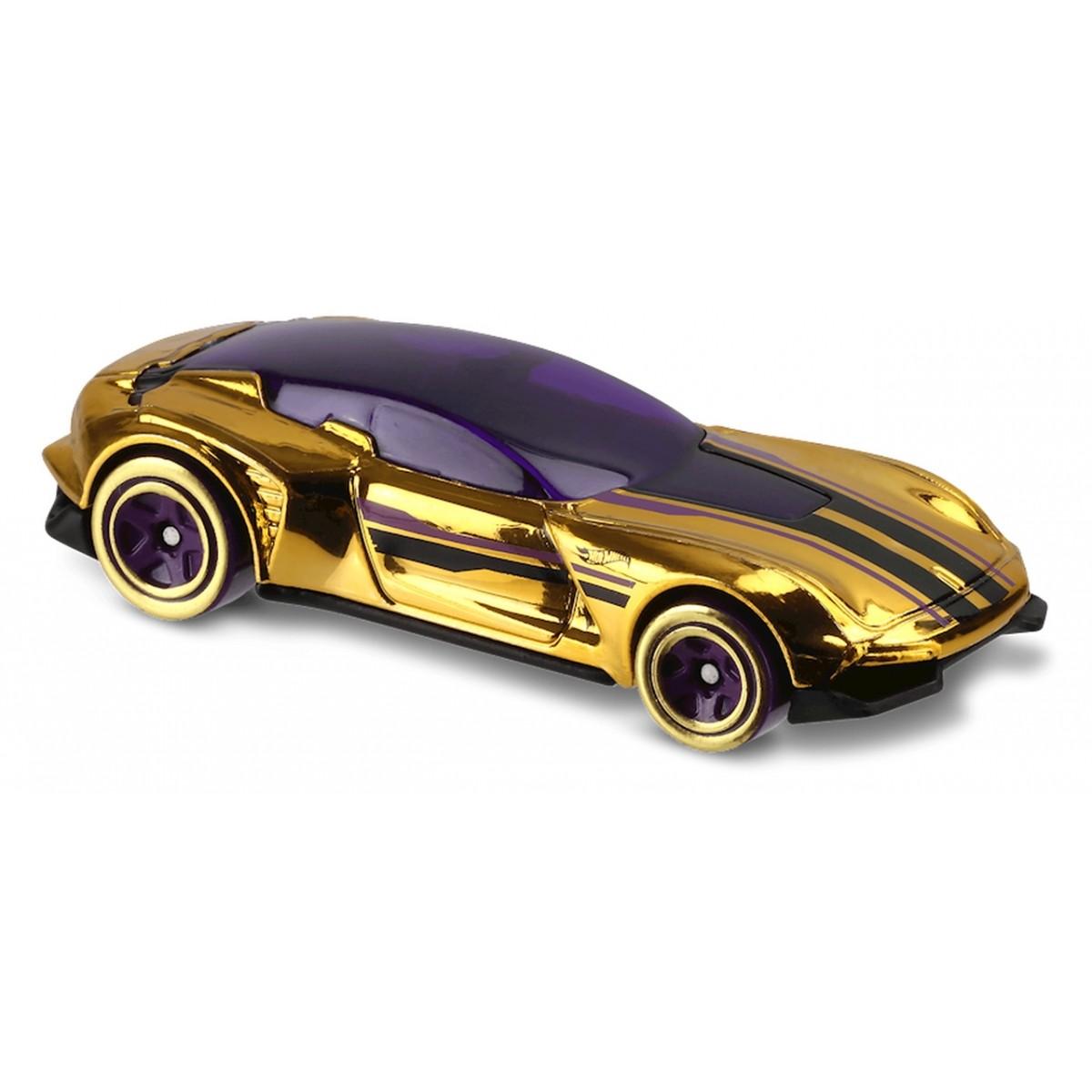 Carrinho Hot Wheels: Gazella GT Dourado
