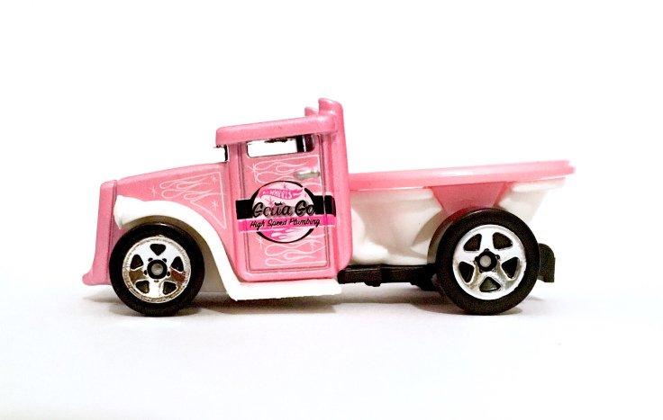 Carrinho Hot Wheels: Gotta Go Rosa - Mattel