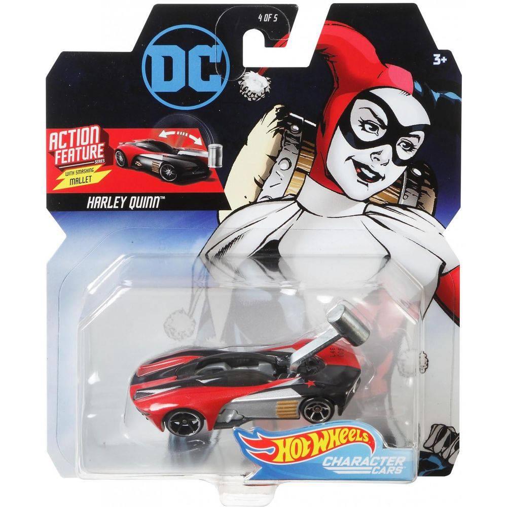 Carrinho Hot Wheels  Harley Quinn: DC Comics - Mattel
