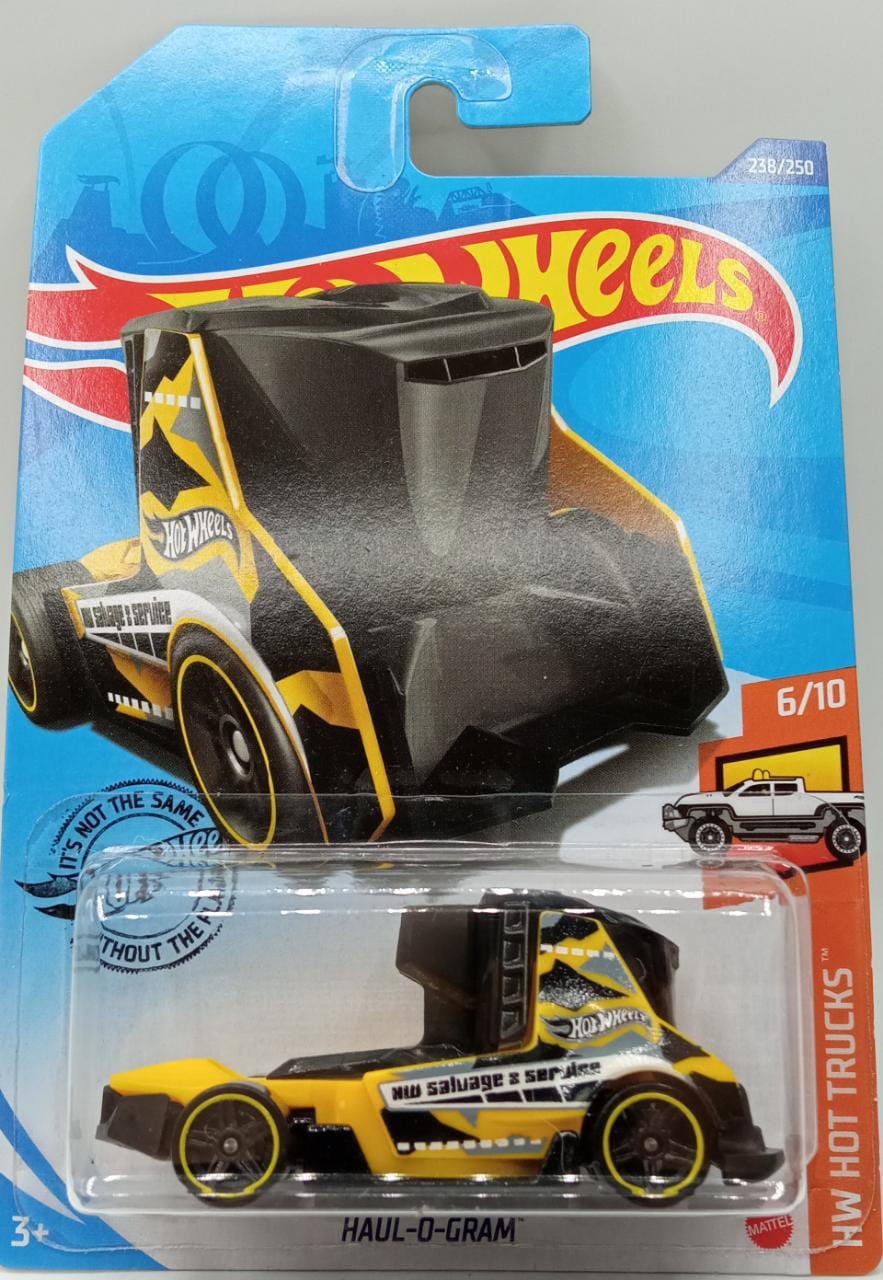 Carrinho Hot Wheels Haul-O-Gram (WONJR) HW Hot Trucks - Mattel