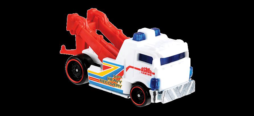 Carrinho Hot Wheels Heavy Hitcher (DAW6C) - Mattel