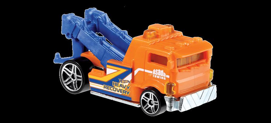 Carrinho Hot Wheels Heavy Hitcher (QQGBN) - Mattel