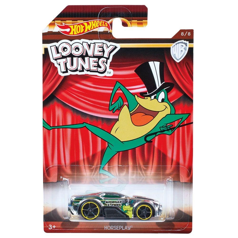 Carrinho Hot Wheels Horseplay: Looney Tunes (FKC75) - Mattel