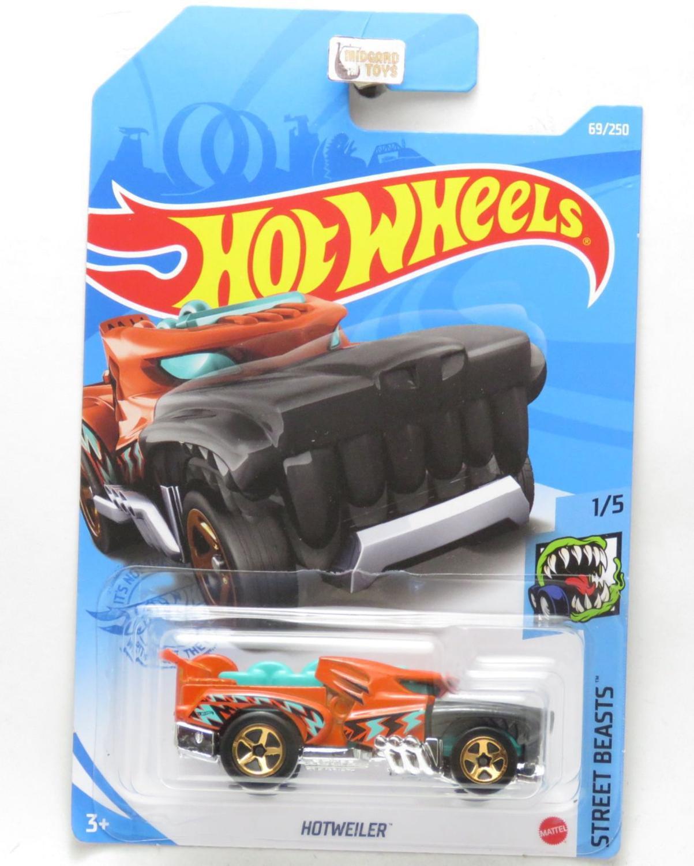 Carrinho Hot Wheels: Hotweiler Street Beasts - Mattel