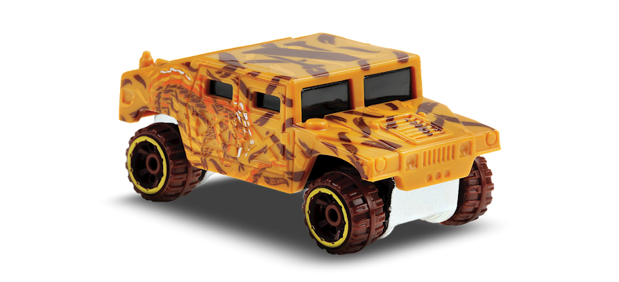Carrinho Hot Wheels Humvee (XWVCA) HW Art Cars