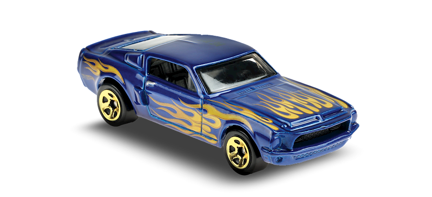 Carrinho Hot Wheels 68 SHELBY GT500 (LJ3SO) HW Flames - Mattel