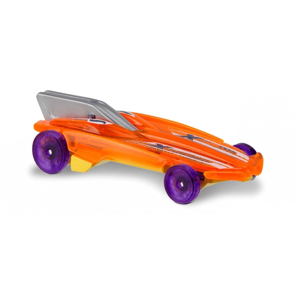 Carrinho Hot Wheels: HW Formula Solar Laranja