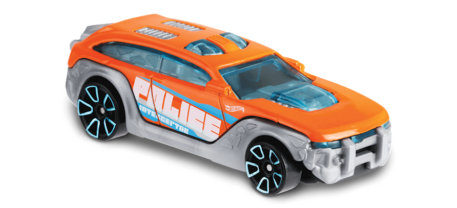 Carrinho Hot Wheels HW Pursuit (4QFPW) - Mattel