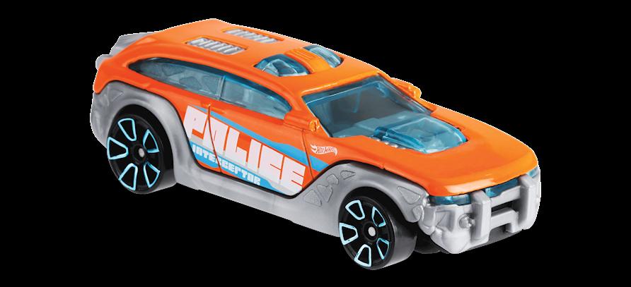 Carrinho Hot Wheels HW Pursuit (4QFPW) - Mattel
