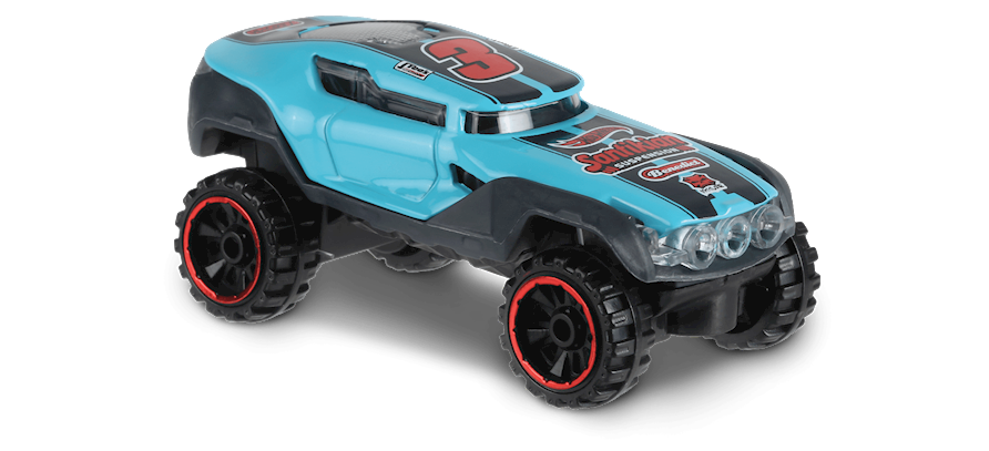Carrinho Hot Wheels Hyper Rocker (BEYU8) - Mattel