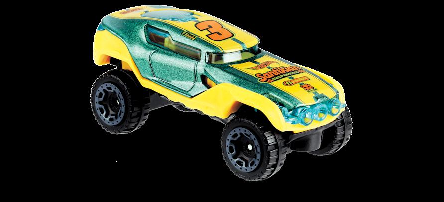 Carrinho Hot Wheels Hyper Rocker (VTIVR) - Mattel