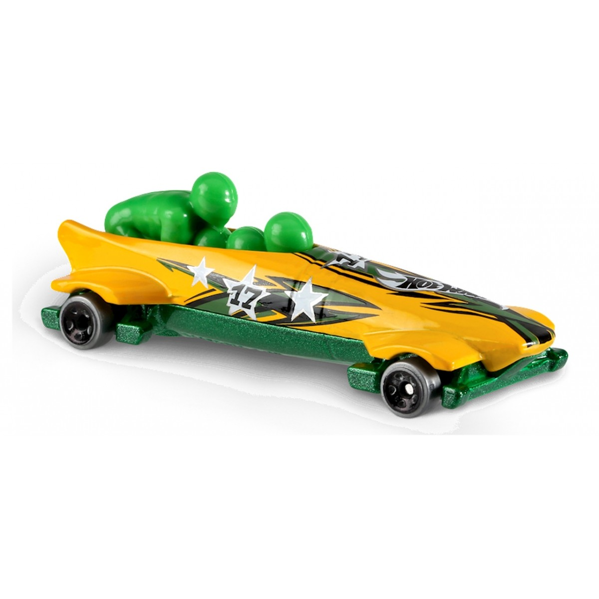 Carrinho Hot Wheels: Ice Shredder Amarelo