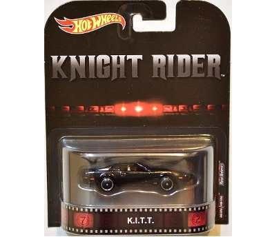 Carrinho Hot Wheels: K.I.T.T. A Super Máquina (Knight Rider) Preto